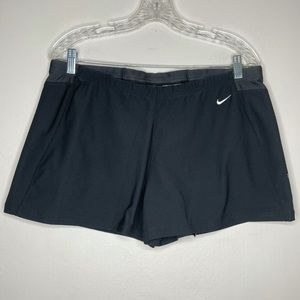 Nike black Dri-fit spandex drawstring active short